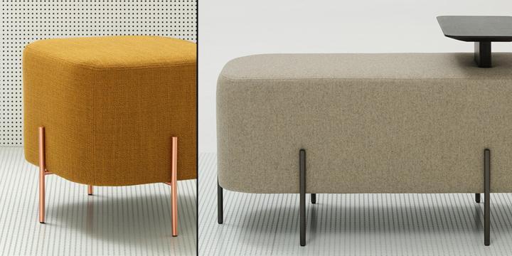 Креативная мебель Elephant poufs от Nadadora