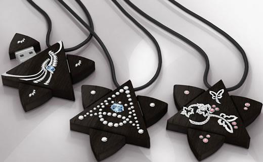 Стильные кулоны-флешки Enigma