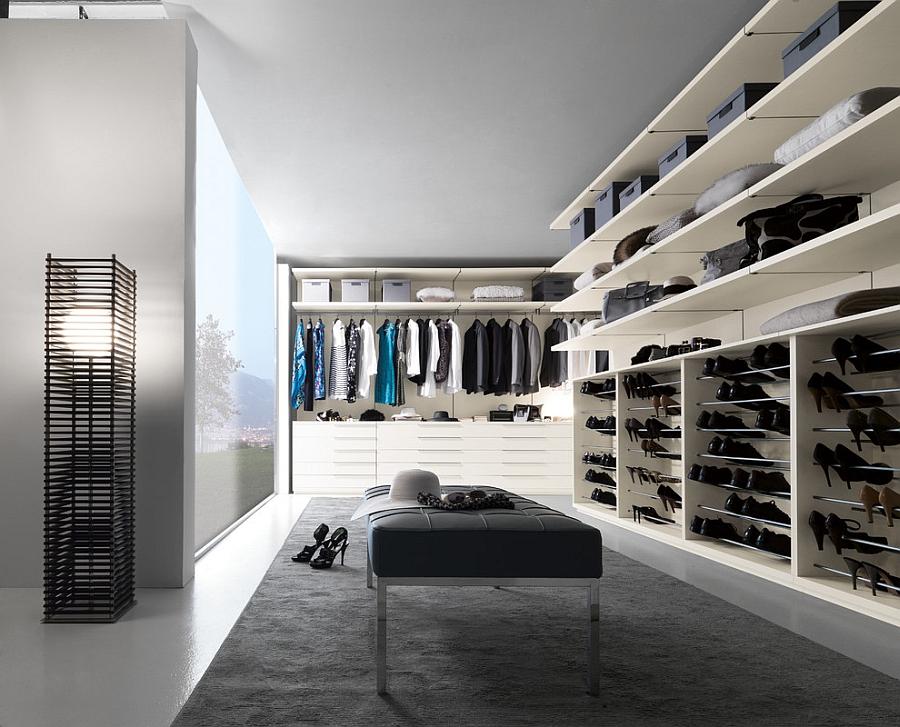 Встроенные шкафы в гардеробной