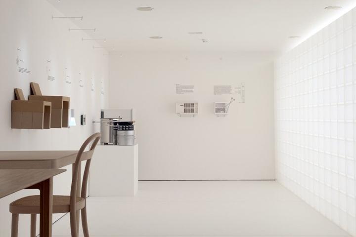 Креативная выставка от Muji в мезее дизайна Лондона