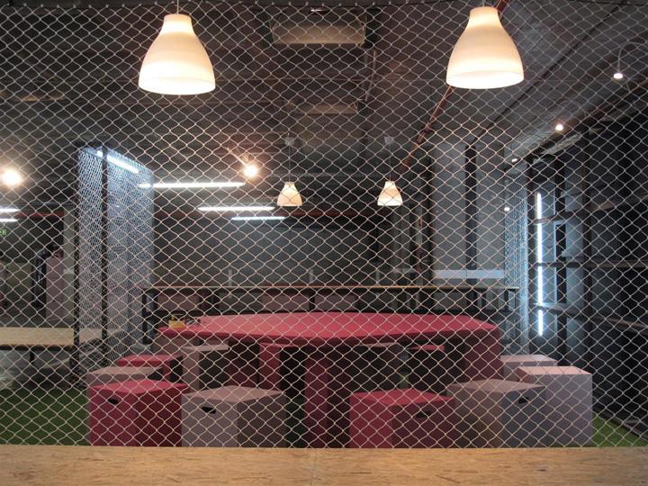 Место для отдыха сотрудников выставочного центра