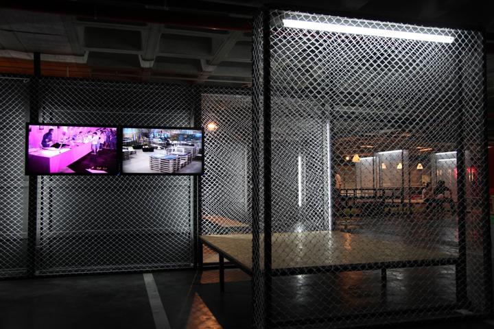 Камера наблюдения за территорией выставочного зала