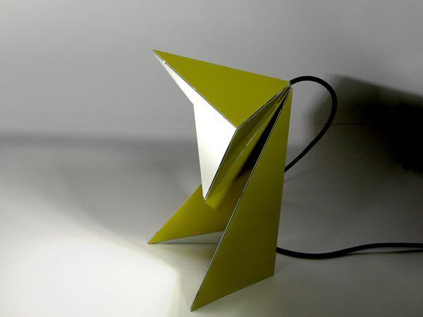Складной светильник по схеме оригами