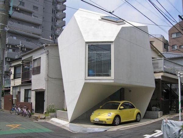 Чудесный фасад отеля в Токио