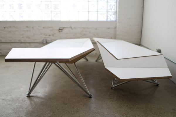 Оригами диван в дизайне интерьера