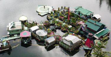 Плавучий остров Бухта Свободы: радикальное решение по строительству недвижимости