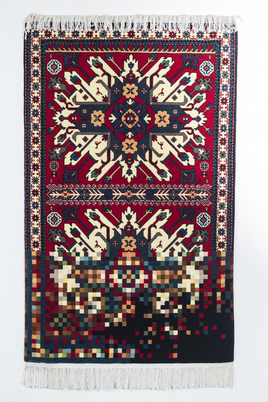 Мутированные традиционные ковры от Фаига Ахмеда