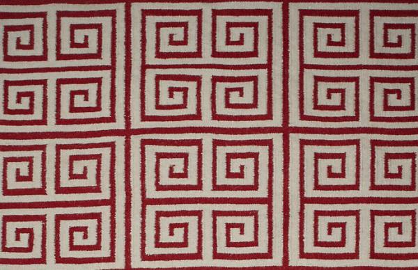 Геометрический орнамент на ковре