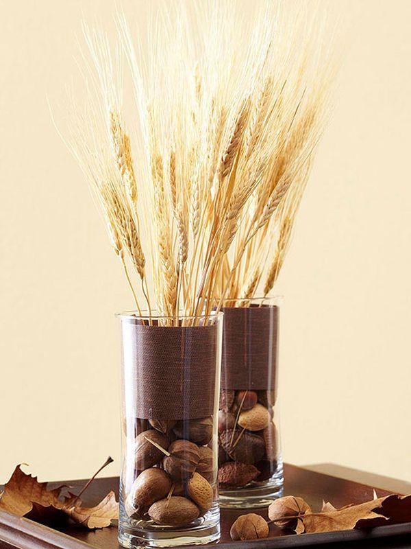 Колосок пшеницы в стакане