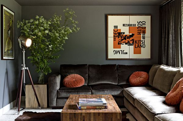 Дизайн интерьера с осенними мотивами