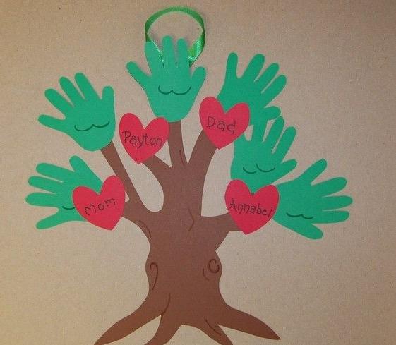 Фамильное дерево своими руками
