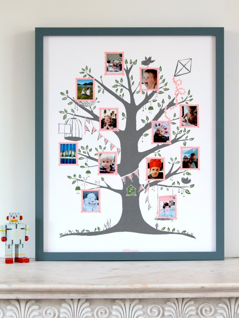 Серое фамильное дерево