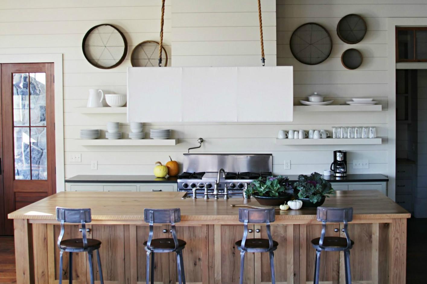 Промышленный стиль в интерьере кухни