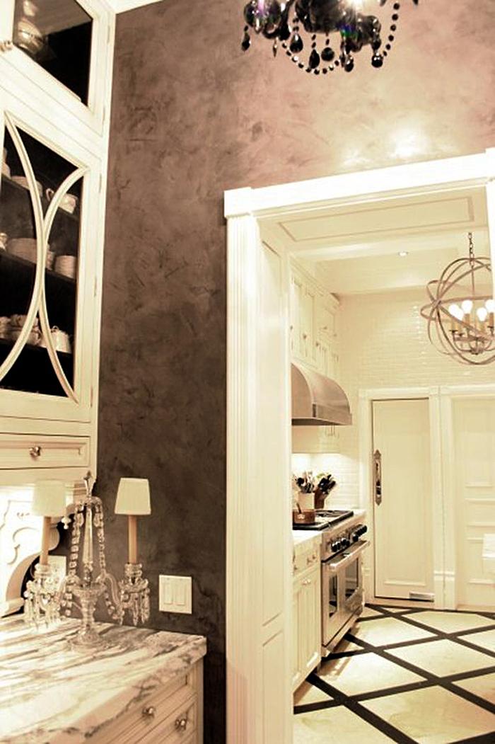 Декоративная отделка в дизайне интерьера кухни