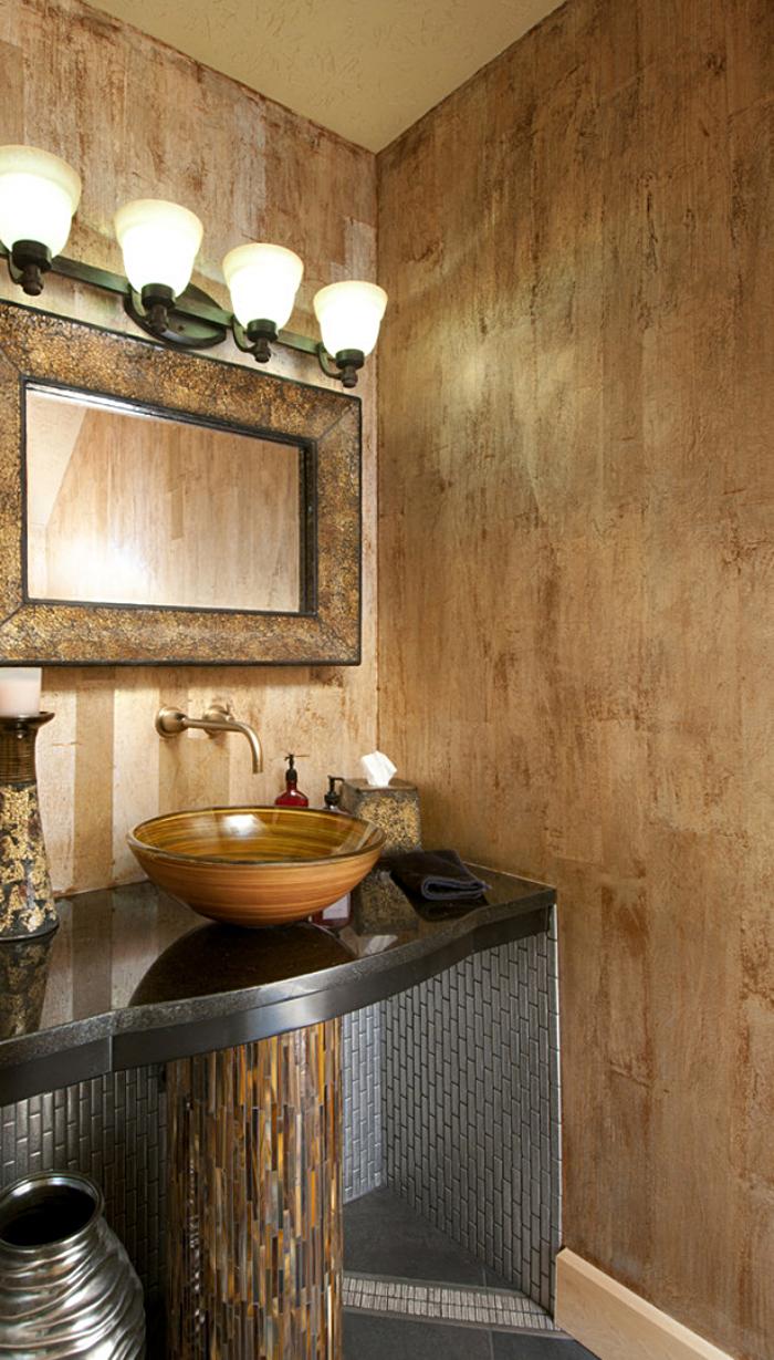 Декоративная отделка мойки в дизайне интерьера