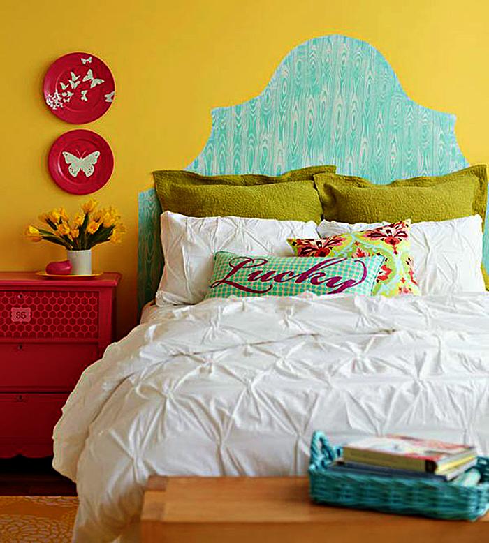 Декоративная отделка в дизайне интерьера спальни