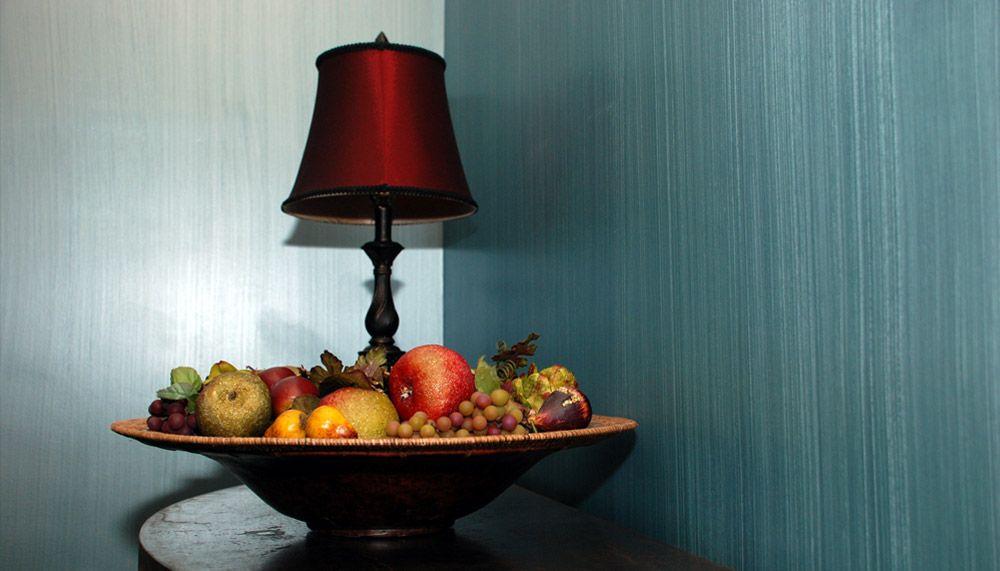 Ваза с фруктами в дизайне интерьера