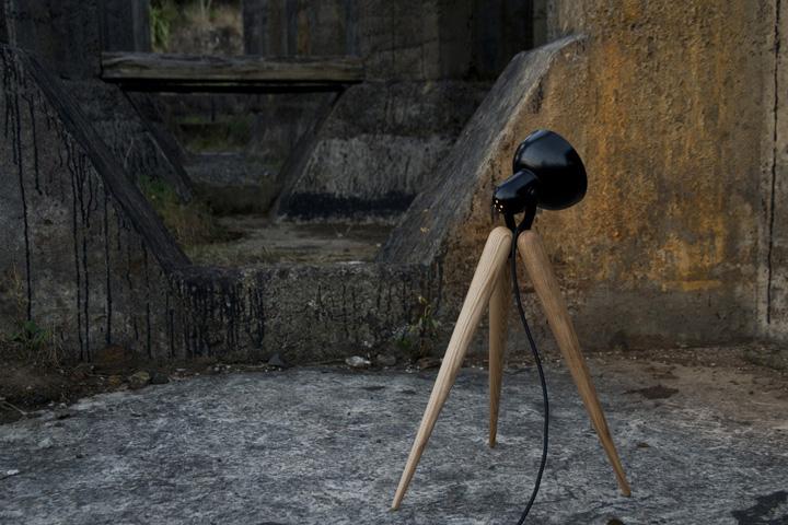 Уникальный светильник Fellow Lamp от Y.S Collective