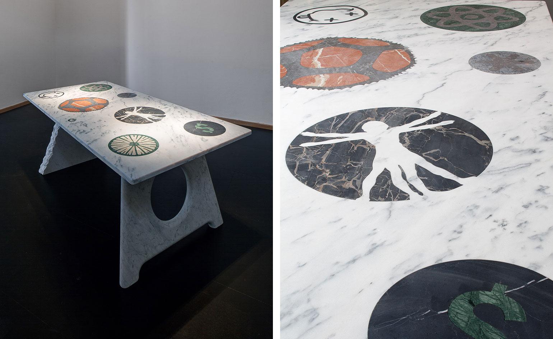 Фестиваль мебели Friends + Design: мраморный столик