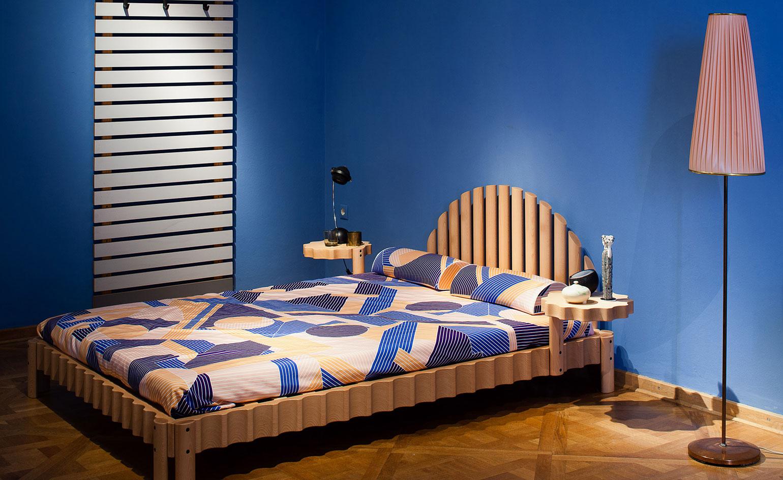 Фестиваль мебели Friends + Design: кровать необычной формы