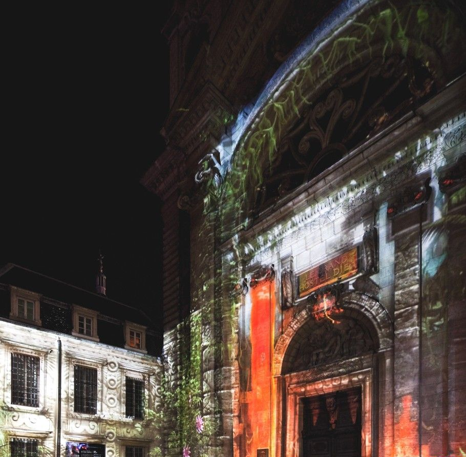 Восхитительная световая инсталляция на Фестивале света