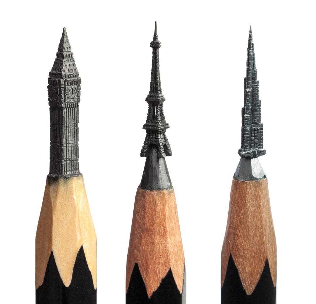 Мастер миниатюр Салават Фидаи: фрагменты коллекции