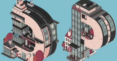 Креативная реклама от Флориана Шоммера для фирмы Deepblue Networks