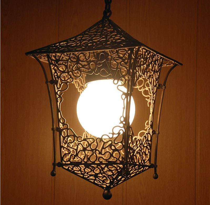Подробная инструкция по созданию красивого светильника 54