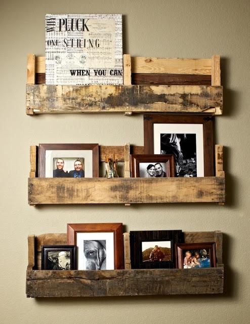 Деревянные подставки для фотографий