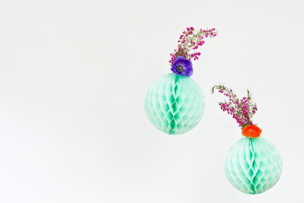 Красивая композиция из живых цветов