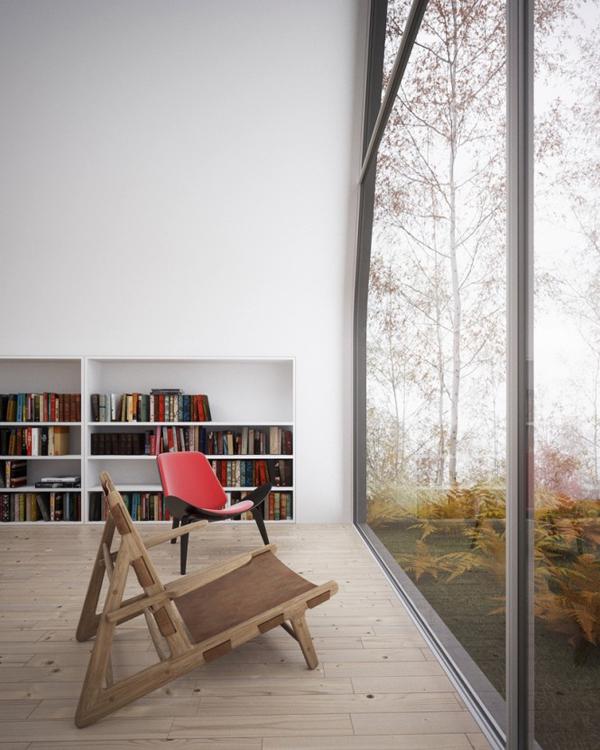 Зона для отдыха у окна
