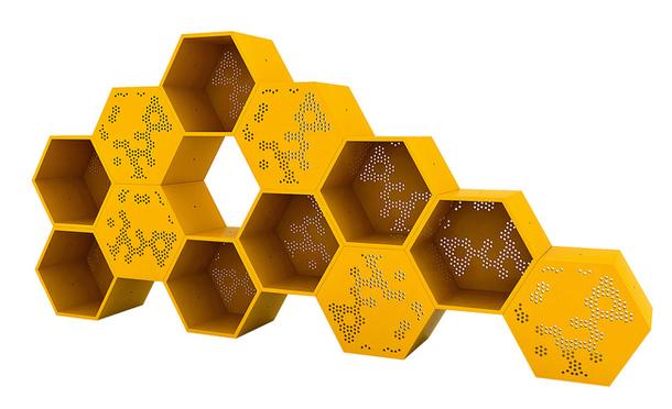 La tecnología de las abejas en el diseño moderno: los motivos de la naturaleza en novedades interesantes.