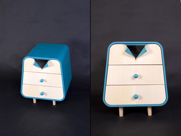 Восхитительная мебель The Unbutton Collection от Cristina Bulat