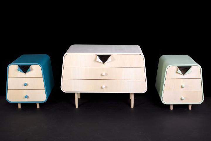 Замечательная мебель The Unbutton Collection от Cristina Bulat
