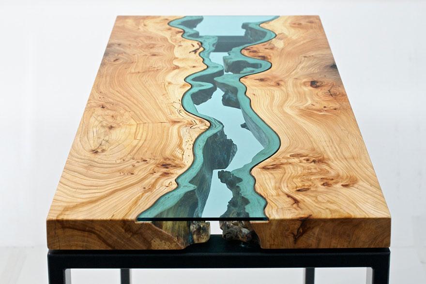 Чудесный стол американского художника Грега Классена