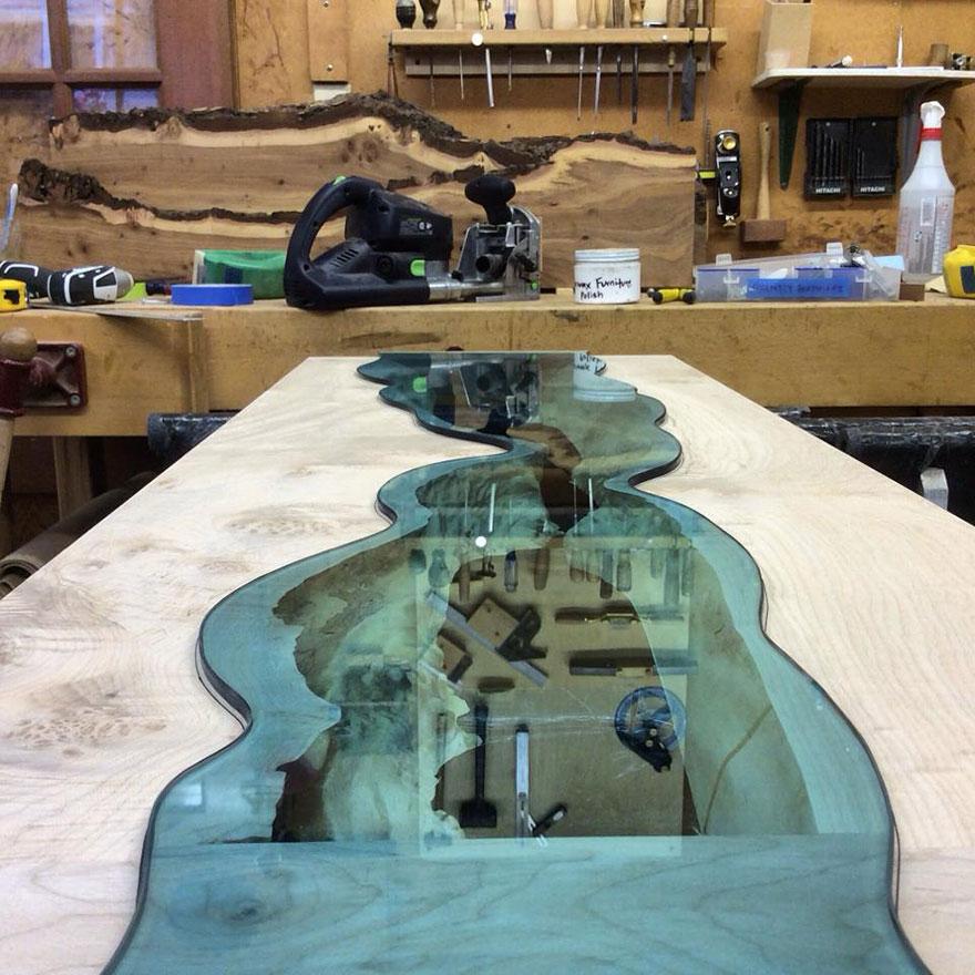 Бесподобный стол американского художника Грега Классена