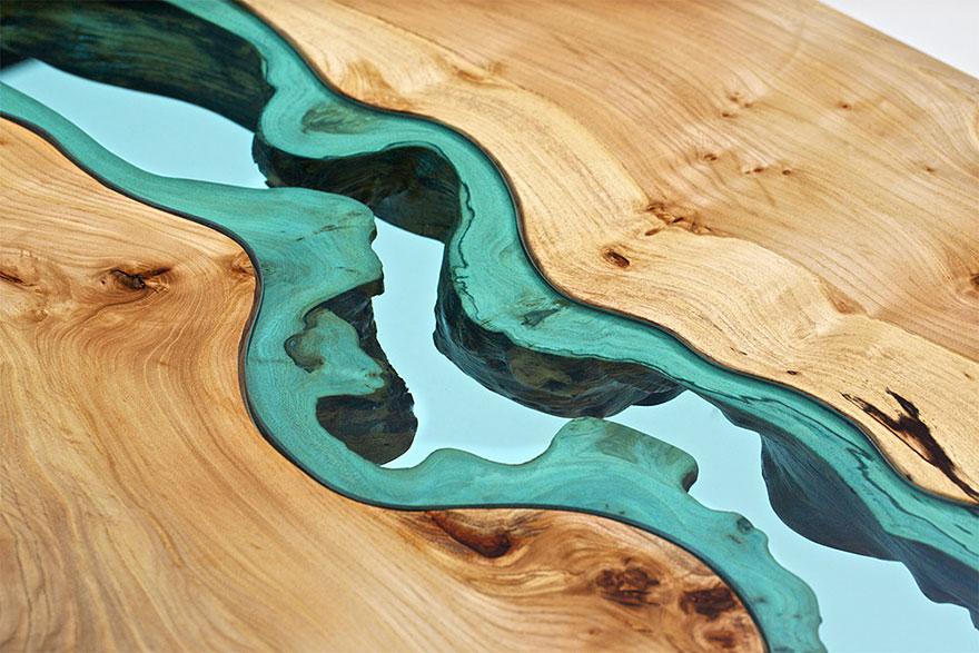 Прекрасный стол американского художника Грега Классена