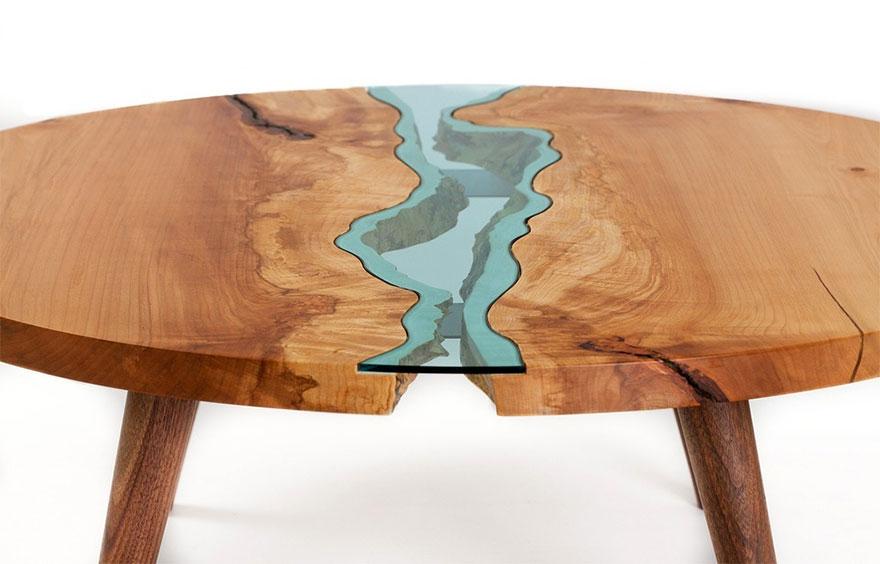 Уникальный стол американского художника Грега Классена