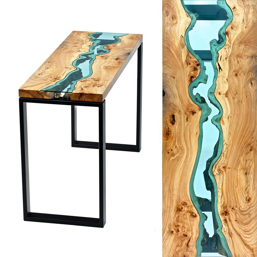 Красивый стол американского художника Грега Классена