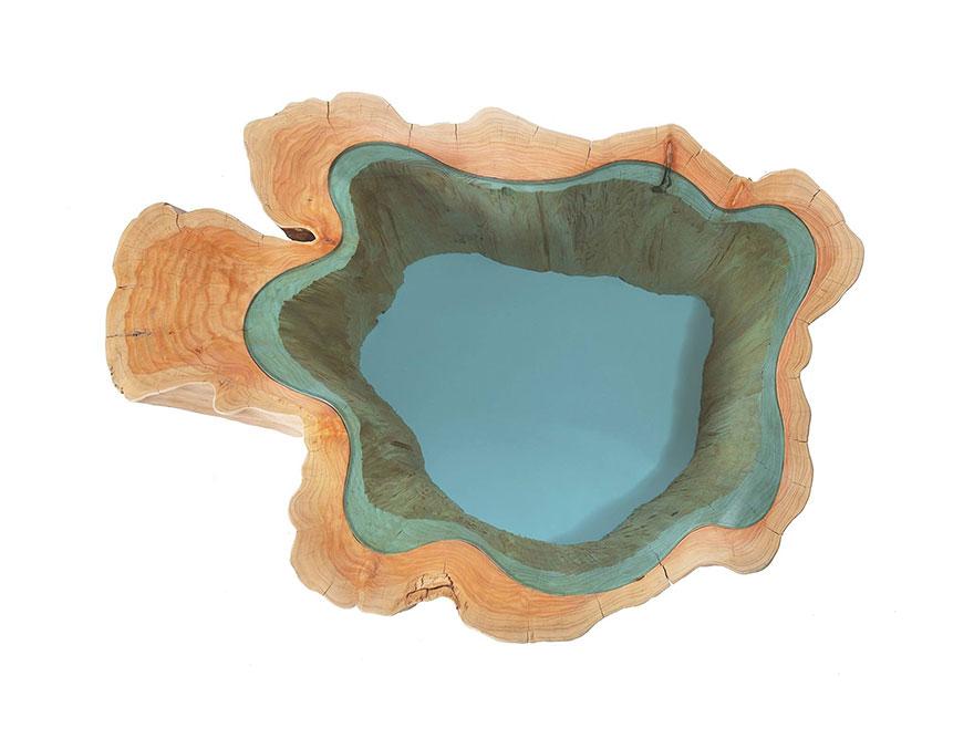 Дизайнерский стол американского художника Грега Классена