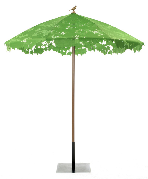 Садовый зонт с ажурным куполом