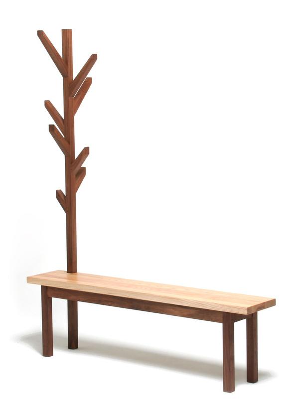 Скамейка с вешалкой Clothes Bench