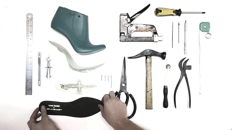 Как создаётся футуристическая обувь от Захи Хадид