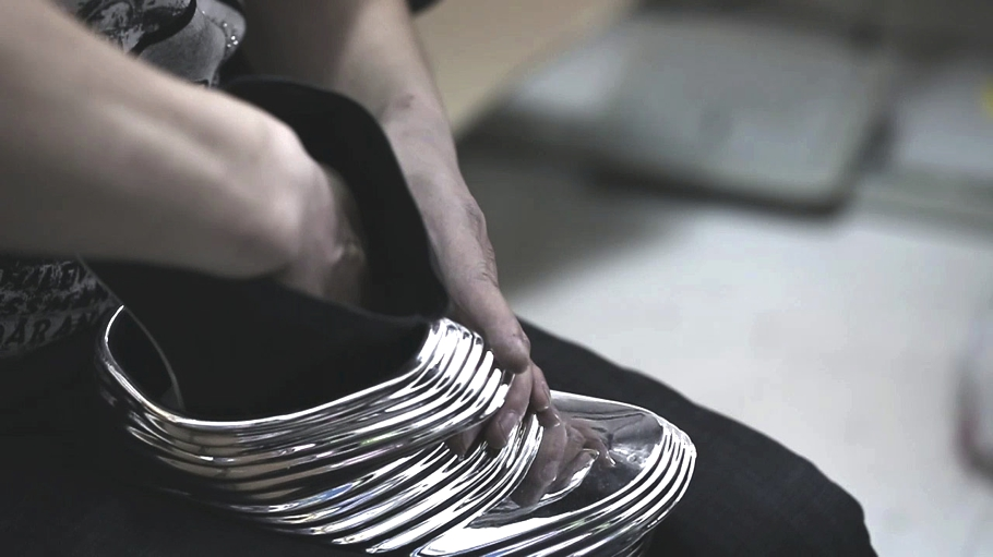 Элемент футуристической обуви