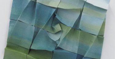 Абстрактные формы бумажных скульптур от Горана Коневода