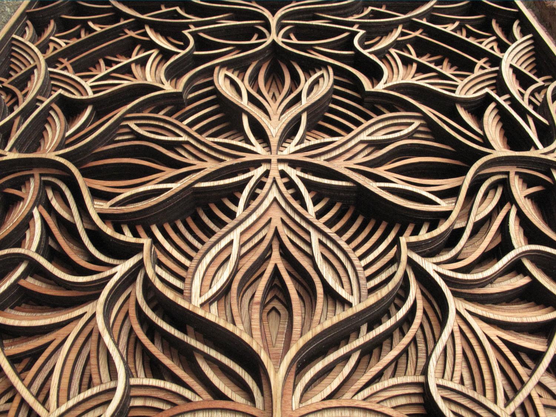Esculturas de madera de Gabriel Shamy