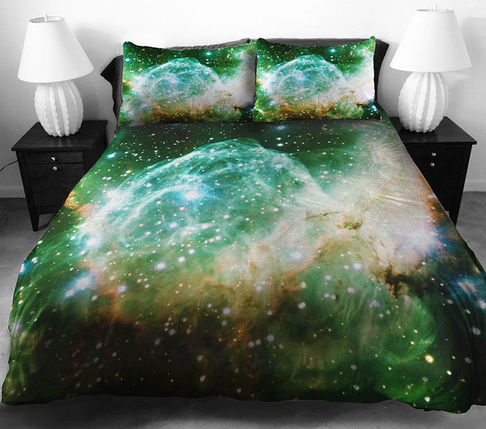 Восхитительное постельное белье с космосом