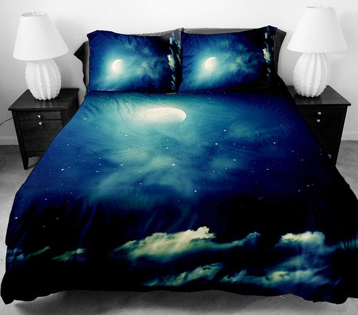 Бесподобное постельное белье с космосом