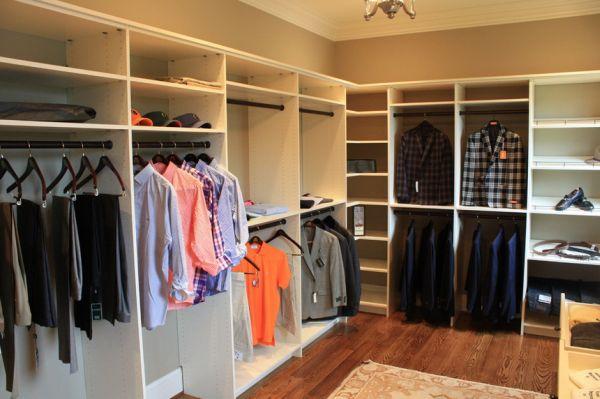 Фото гардеробной комнаты в своем доме своими руками