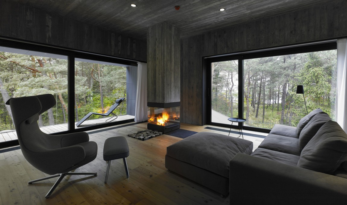 Газовый камин для дома - Фото 21